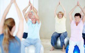 4 простых упражнения в йоге для пожилых людей