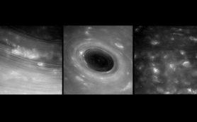 «Кассини» вышел на связь и даже прислал уникальные снимки гигантских ураганов