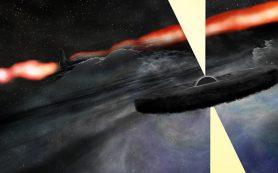 В «невидимой» галактике обнаружена возможно вторая сверхмассивная черная дыра