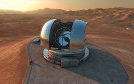 Начато строительство первого в мире «супертелескопа»