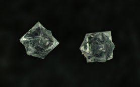 Синхротрон объяснил сосуществование «родственников» кварца в метеоритах