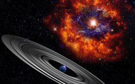 Гигантская планета с кольцами, возможно, стала причиной затмений далекой звезды