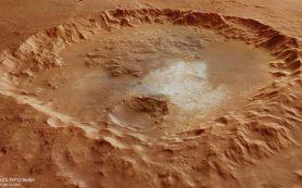 Кратер рассказал о «водяном» прошлом Марса