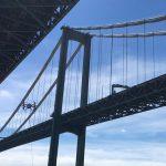 Дрона впервые использовали для осмотра моста. И под водой тоже