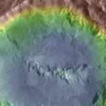 Овраги в кратерах указывают на подповерхностный лед на астероидах