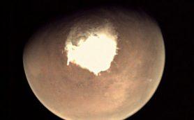 Погода на Марсе: «Облачно, возможны снежные бури в ночное время»