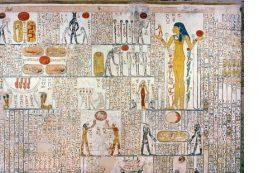 В гробнице фараона нашли надписи античных туристов