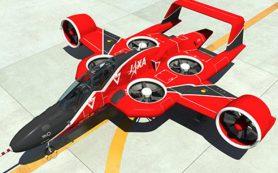 Японцы занялись разработкой аэротакси. Оно похоже на штурмовик