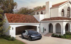 Tesla установила первые солнечные крыши