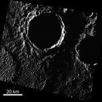 Водяного льда на Меркурии может оказаться значительно больше, чем считалось