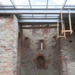 Реставраторы законсервировали древний храм на Рюриковом городище под Великим Новгородом