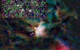 Обнаружены следы метилхлорида вокруг новорожденных звезд и близлежащей кометы