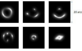 Искусственный интеллект обнаруживает 56 новых гравитационных линз-кандидатов