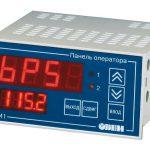 Панель оператора с цифровой индикацией ОВЕН СМИ1 и ОВЕН СМИ2 Светодиодный индикатор