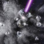 Алмаз превратили в графит рентгеновским лазером