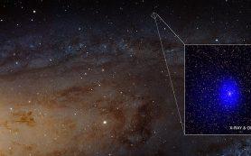 Ученые обнаруживают пару гигантских черных дыр позади галактики Андромеда