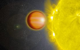 Экзопланета имеет атмосферу, наполненную угарным газом и лишенную воды