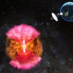 Наблюдения в радиодиапазоне позволяют объяснить слияние двух нейтронных звезд