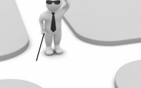 Слепые получат тактильные карты