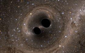 Гравитационные волны укажут на существование первичных черных дыр