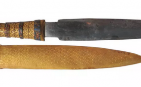 Откуда люди бронзового века брали железо?