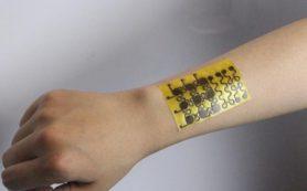 Ученые создали растворимую электронную кожу