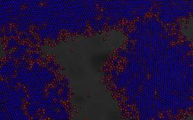 Вращение магнитного поля помогло разобраться в формировании коллоидных кристаллов