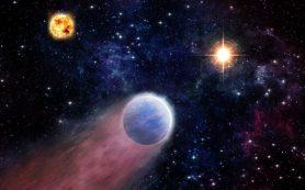 Выбросы со стороны черных дыр превращают супернептуны в каменистые планеты К