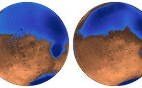 Океаны Марса формировались рано, возможно, с участием вулканических комплексов