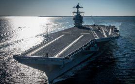 Американцы отложат взрывные испытания нового авианосца