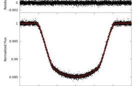 Обнаружена одна из самых темных планет, известных ученым