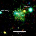 Астрономы открывают первую «туманность пульсарного ветра» вокруг магнетара