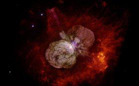 Звезда Эта Киля является источником космических лучей, подтвердили астрономы