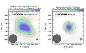 В протопланетном диске впервые обнаружена простейшая органическая кислота