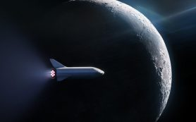 SpaceX запустит пассажира вокруг Луны
