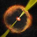 Обзор неба VLA sky survey обнаруживает гамма-всплеск по радиоизлучению А