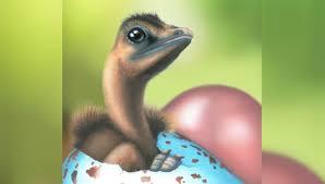 Динозавры несли цветные яйца