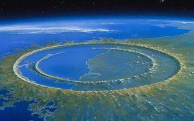 Астероид, обусловивший вымирание динозавров, заставил камни течь подобно воде