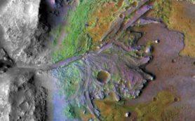 Ровер NASA будет искать на Марсе признаки древней жизни в бывшей дельте реки