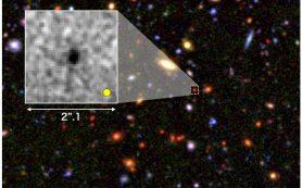 Зародыши гигантских галактик формировались в ранней Вселенной