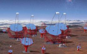 На территории обсерватории ESO установят решетку черенковских телескопов