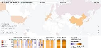 Российские ученые создали карту резистентности антибиотиков
