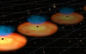 Активные галактики указывают на новую физику расширения Вселенной