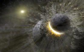 Столкновения с суперземлями могут объяснить многообразие атмосфер экзопланет