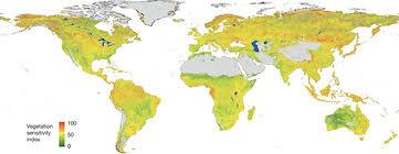Будущие климатические сдвиги нанесли на карту