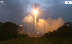 Ракета «Союз» успешно запустила первые спутники OneWeb