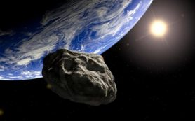 Астероид размером с Боинг-747 пролетел мимо Земли