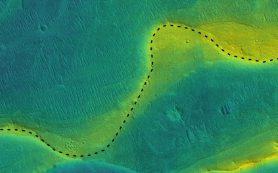 На Марсе текли широкие реки на протяжении миллиардов лет, выяснили исследователи