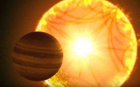 Наблюдения «звездотрясений» позволили выяснить параметры «горячего сатурна»