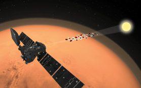 Метан на Марсе исчезает загадочным образом, выяснила миссия «ЭкзоМарс»